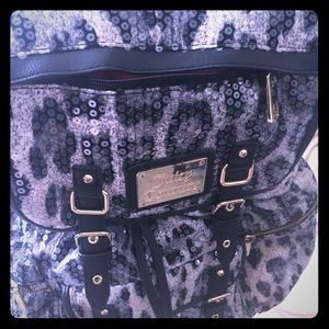 Juicy Couture Sequins Leopard Back Pack